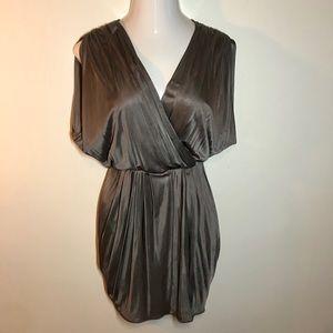 Black halo party Jill mini dress